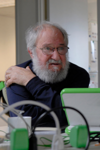 Seymour Papert. Credit Jodi Hilton for The New York Times