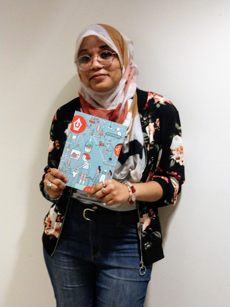 Sumayyah Daud, comics workshop facilitator