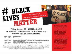Black Lives Matter Teach-In Poster-page