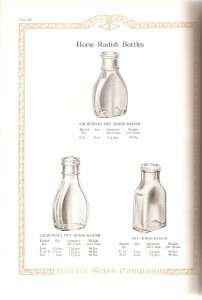 Illinois Glass horseradish bottles-page132