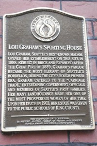Lou Graham Memorial Plaque