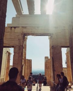 Photo of the Acropolis in Greece
