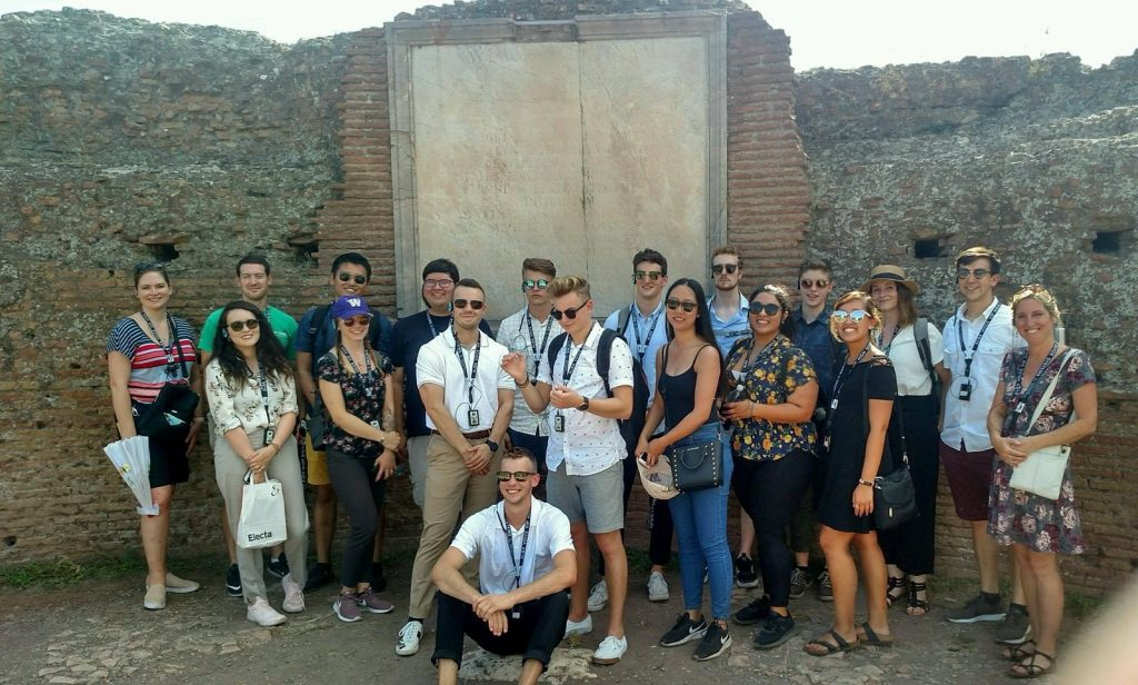 When In Rome Study Abroad Group