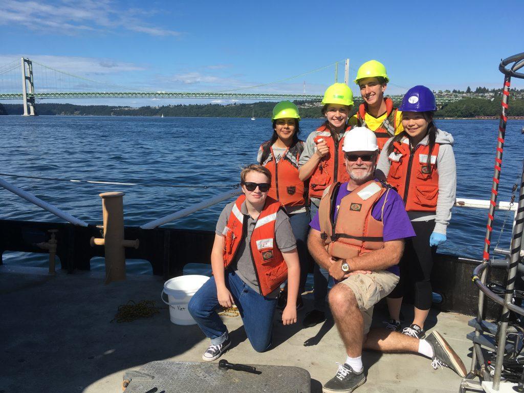 R/V Barnes Cruise Day 2: Tacoma to Nisqually River delta