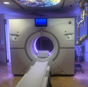 Revolution CT scanner