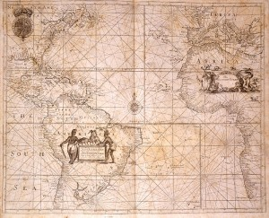 Map of the 18thC Atlantic World