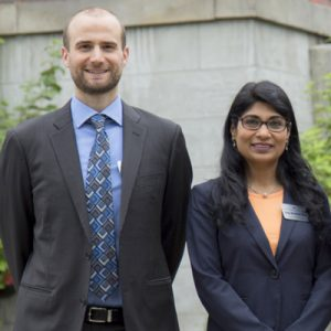 Paul Carrington and Divya McMillin
