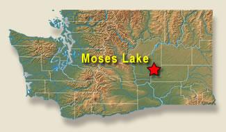 moses lake wa map Moses Lake Wwami Rural Integrated Training Experience Write moses lake wa map