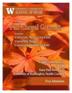 2015 fall concert