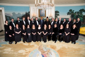 Obama and Choral Arts Ensemble